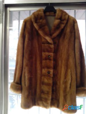 abrigo de vison reversible 0