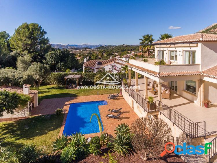 Villa Mediterránea en MONTGO Javea   Sur con Vistas al Valle cerca del GOLF ⛳   COSTA HOUSES ® 1