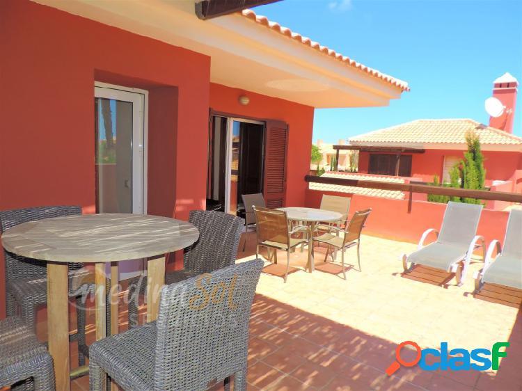 Chalet adosado 3 dormitorios con piscina y jardines Mar de Cristal 2