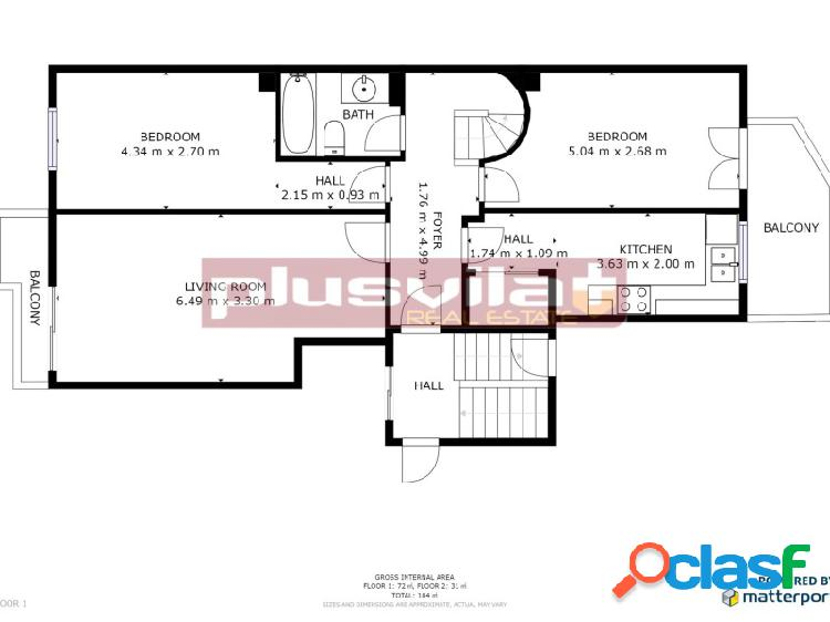 Ático Dúplex en venta, Vilafranca del Penedès, zona d'en Molí d'en Rovira, seminuevo, TERRAZA 16m2. 2