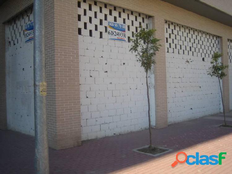 Alquiler Bajo comercial junto Juan Carlos primero Murcia -Alquileres con opción de compra- 1