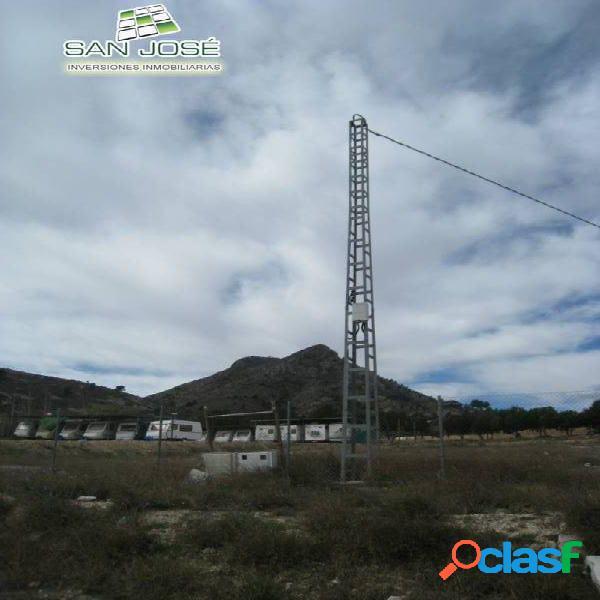 Inmobiliaria San Jose vende esta parcela en Elda Alicante Costa Blanca España Spain 1
