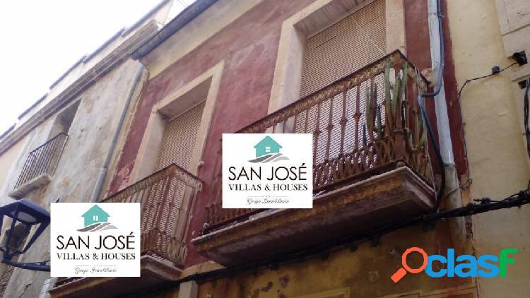INMOBILIARIA SAN JOSE VENDE CASA EN PLENO CENTRO DE ASPE, ALICANTE 1