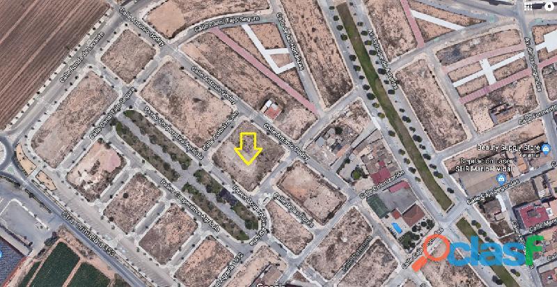 Venta Solar de 2.627 m2 Pilar de la Horadada 2