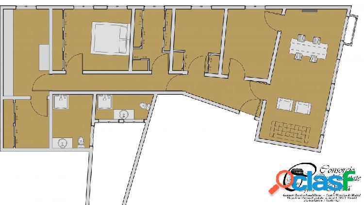 Vivienda de 5 dormitorios en pleno centro de Madrid. 2