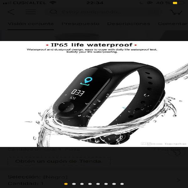 Pulsera band - Fitness watch 0