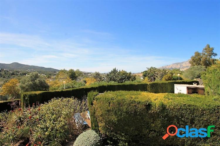 Soleado Chalet Mediterraneo en Javea · RAFALET   4 dormitorios · Apartamento Invitados · Piscina 1