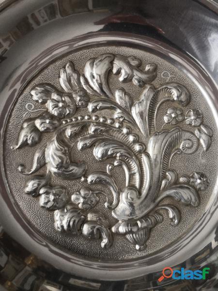 pareja bandejas de plata 3