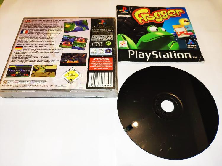 Frogger Ps1 PSX PSone Completo 0