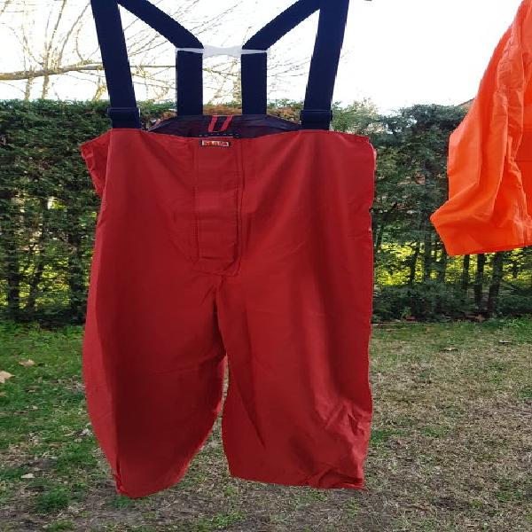 Traje de agua pantalón peto SLAM e Impermeable. 0