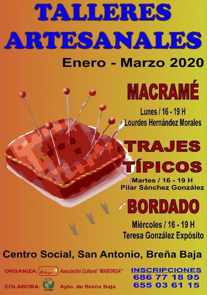 Inscripciones Talleres Artesanales Invierno 0