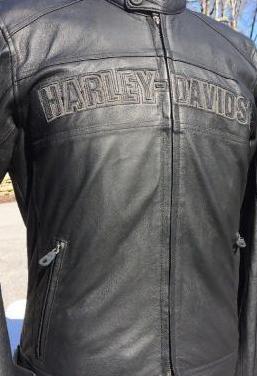 Chaqueta cuero Harley Davidson Agressor 0