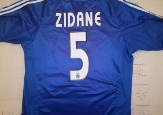 Camiseta azul Real Madrid Zidane 0