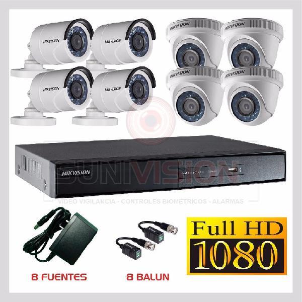 kit videovigilancia 8 camaras seguridad 0