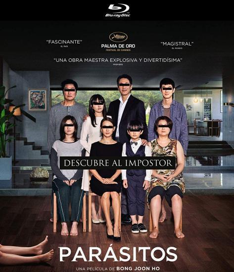 Parásitos [Blu-ray] 0