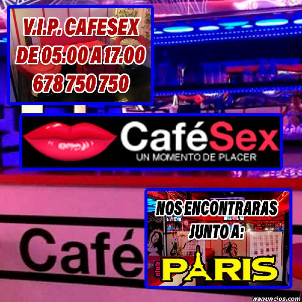 VIP DIA CAFESEX 24H TU MOMENTO DE PLACER ESCORTS STRIP CLUB 0