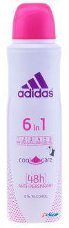 Adidas Desodorate Adidas 6 in 1 Cool and Care 150 ml 0