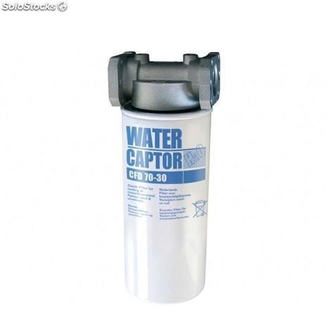 Filtro separador agua water captor 30 micras 70 l/min 0