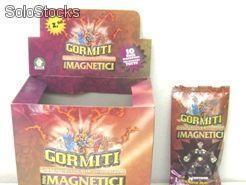 Gormiti Magnético, sobres con figuras más cartas, ocasión 0