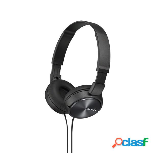 Auriculares estereo sony mdr-zx310 negro 0