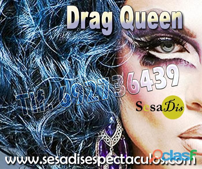 Drag queen, humor