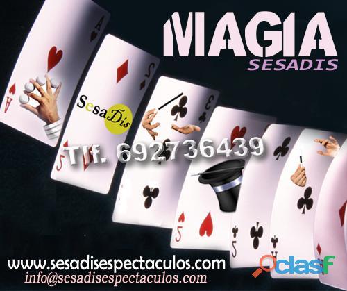 Espectáculo de magia