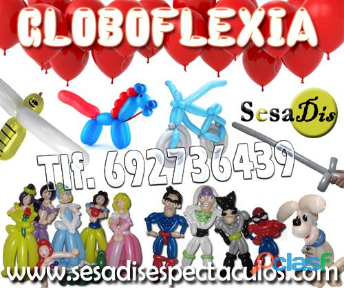 Globoflexia, figuras con globos