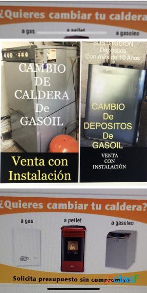Comprar calderas gasoil gas si su caldera le falla no tiene agua caliente ni calefacción llamenos