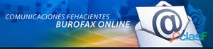 Burofax servicio de envío en línea con notificad @ s postal y electrónica