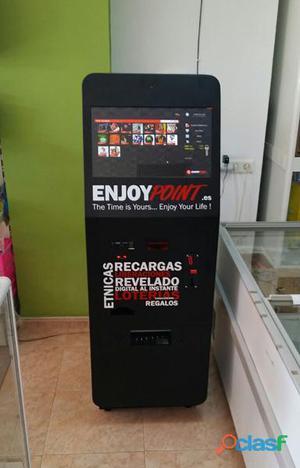 Recargas móviles, Paysafecard, Liberalizaciones... rentable máquina multiservicio.