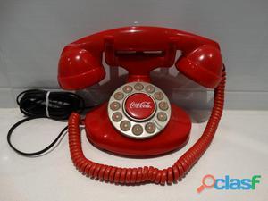 Teléfono retro coca cola