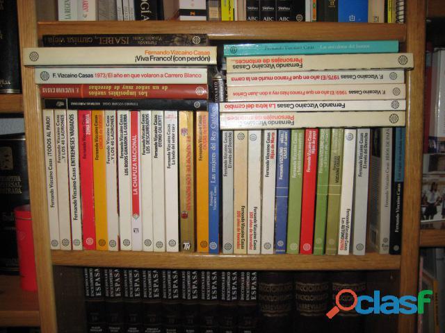30 novelas de fernando vizcaino casas