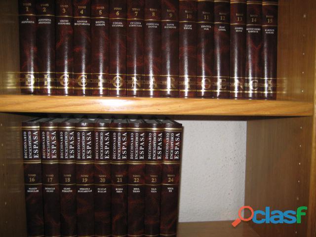 Diccionario enciclopedico espasa 24tomos