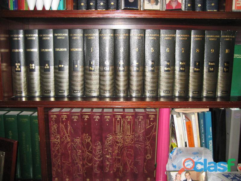 Diccionario enciclopédico larousse 15 tomos
