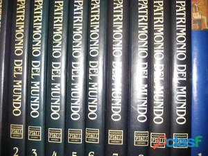 El patrimonio del mundo 10 tomos
