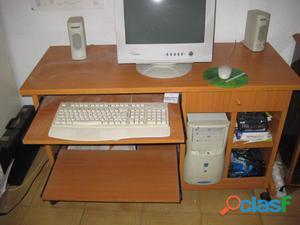 Mesa ordenador ruedas ofertas mayo clasf - Mesa de ordenador con ruedas ...