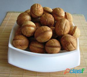 Galletas dulces avellanas