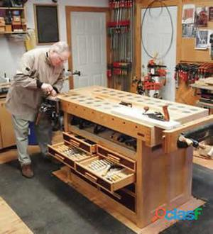Negocio casero de carpintería