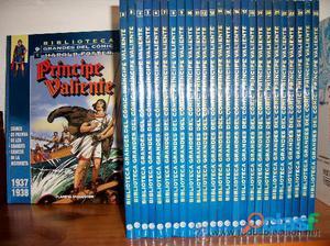 Colección completa príncipe valiente de ed. planeta
