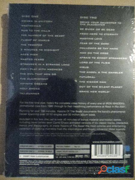 IRON MAIDEN CDS DVD NUEVOS PRECINTADOS HEAVY METAL 6