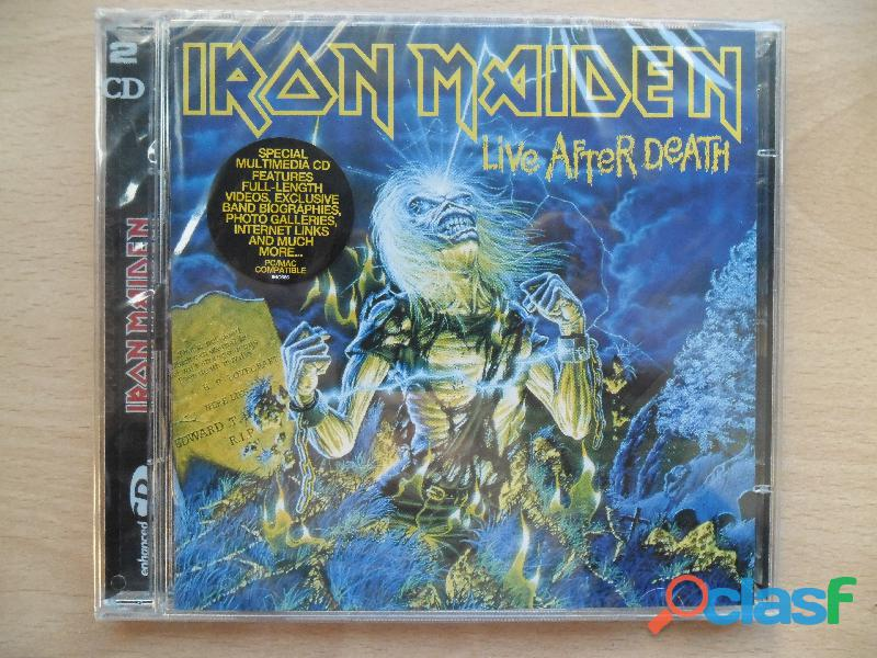 IRON MAIDEN CDS DVD NUEVOS PRECINTADOS HEAVY METAL 5