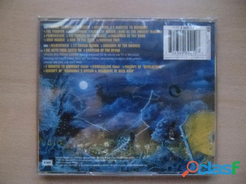IRON MAIDEN CDS DVD NUEVOS PRECINTADOS HEAVY METAL 4