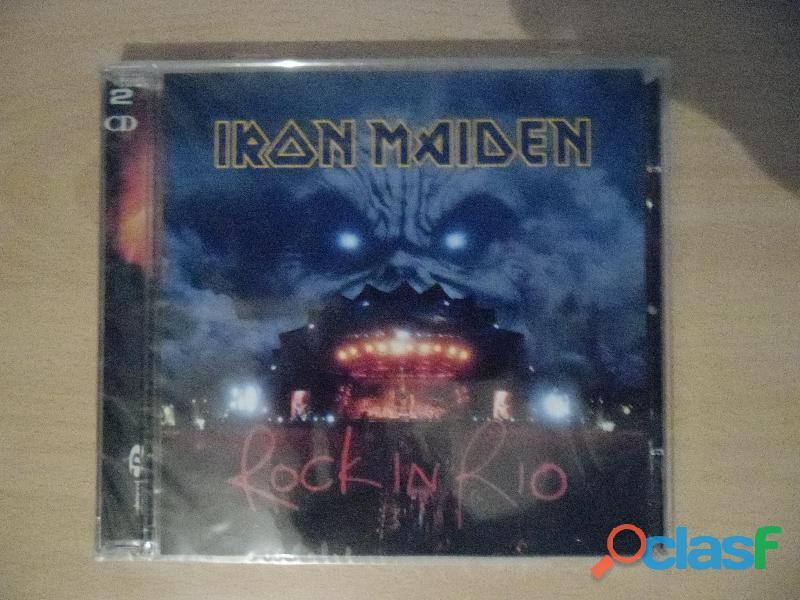 IRON MAIDEN CDS DVD NUEVOS PRECINTADOS HEAVY METAL 3