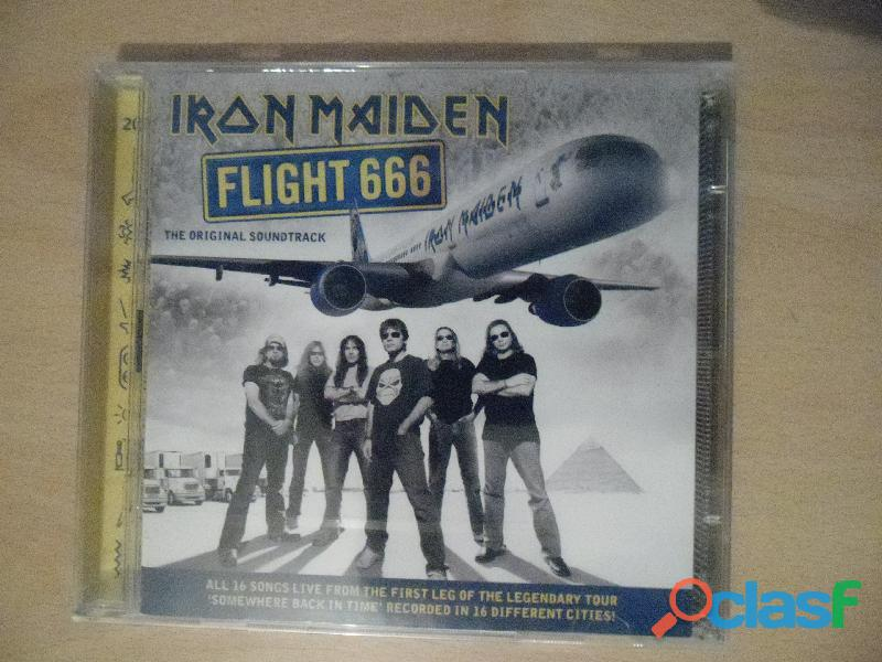 IRON MAIDEN CDS DVD NUEVOS PRECINTADOS HEAVY METAL 2