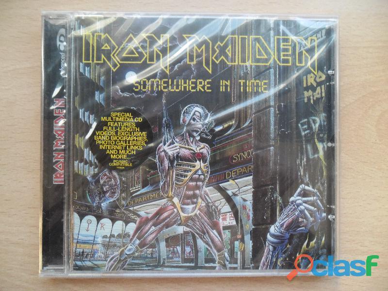 IRON MAIDEN CDS DVD NUEVOS PRECINTADOS HEAVY METAL 1