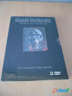 Iron maiden cds dvd nuevos precintados heavy metal