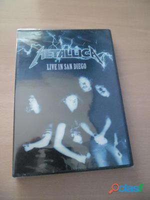 METALLICA MEGADETH DORO DVD NUEVOS HEAVY METAL CDS