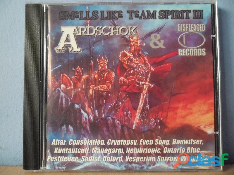 CDS HEAVY METAL THRASH BLACK DEATH AOR CD DVD 3