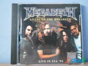 MEGADETH CD BOOTLEG LIVE IN USA 1994 THRASH HEAVY METAL