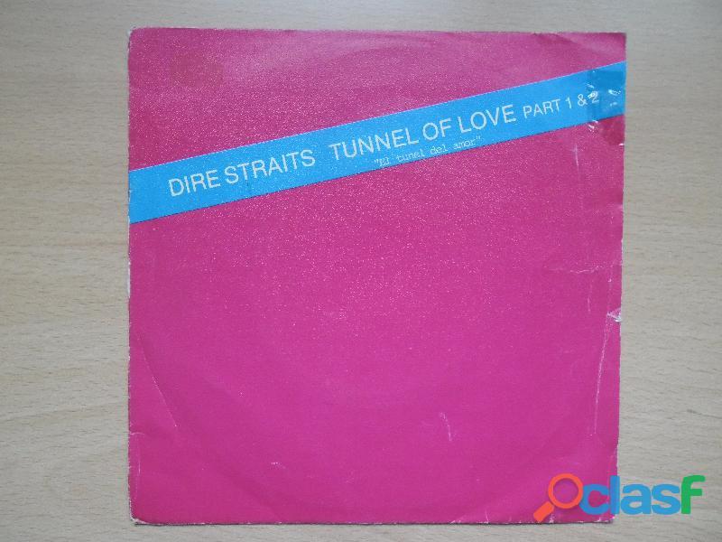 DIRE STRAITS TUNNEL OF LOVE PART 1&2 SINGLE VINILO